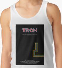 Tron 1982 - minimalista, alternativo, ciencia ficcion,  Camiseta de tirantes