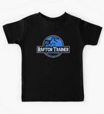 Camiseta para niños Jurassic World Raptor Trainer