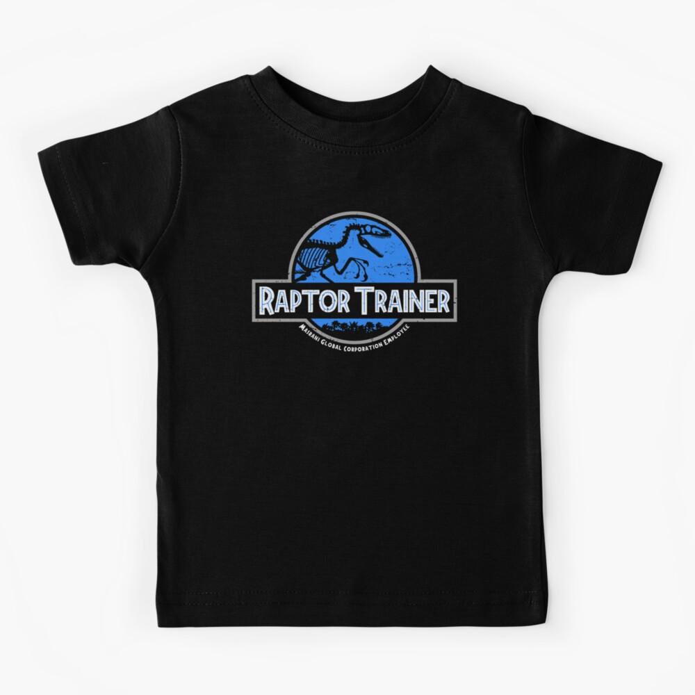 Jurassic World Raptor Trainer Kids T-Shirt
