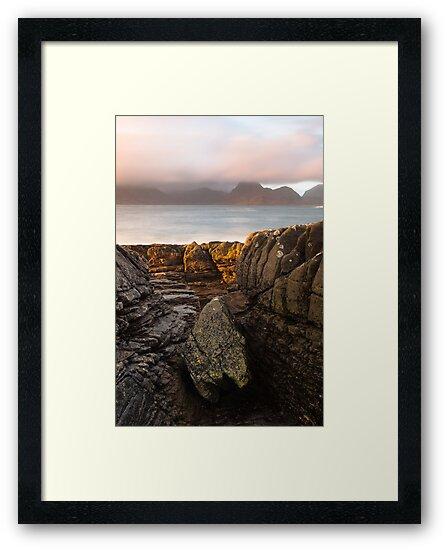 Elgol, Skye Seascape 2 by Karl Thompson