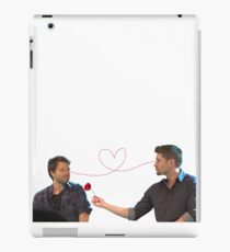Destiel // Cockles  iPad Case/Skin