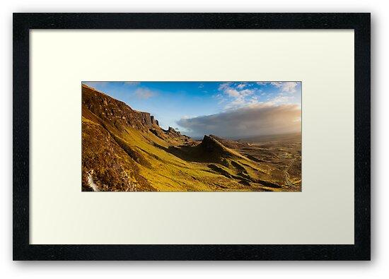 The Quiraing, Skye by Karl Thompson