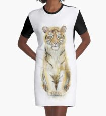 Tiger // Sound Graphic T-Shirt Dress