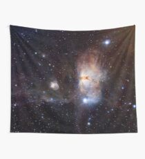 Flame Nebula Wall Tapestry
