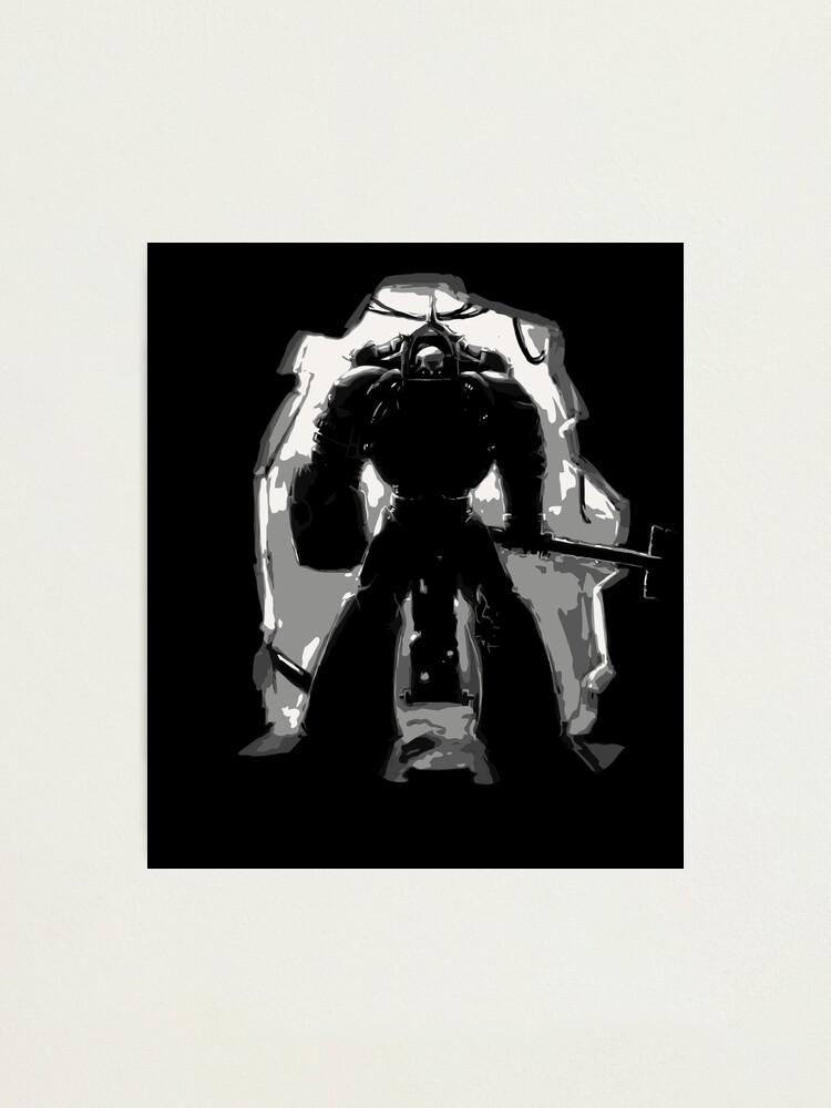 Warhammer 40k Space Marines Chaplain Sticker