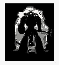 Chaplain Space Marines Photographic Print