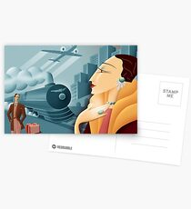 Deco  Postcards