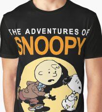 Tin Tin Snoopy Graphic T-Shirt