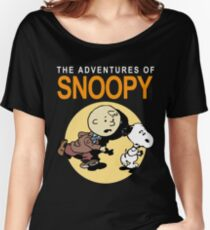 Tin Tin Snoopy Women's Relaxed Fit T-Shirt