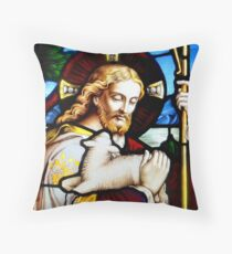 While Sheperds Watched  . Throw Pillow