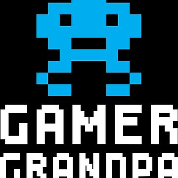Gamer Grandpa by makari