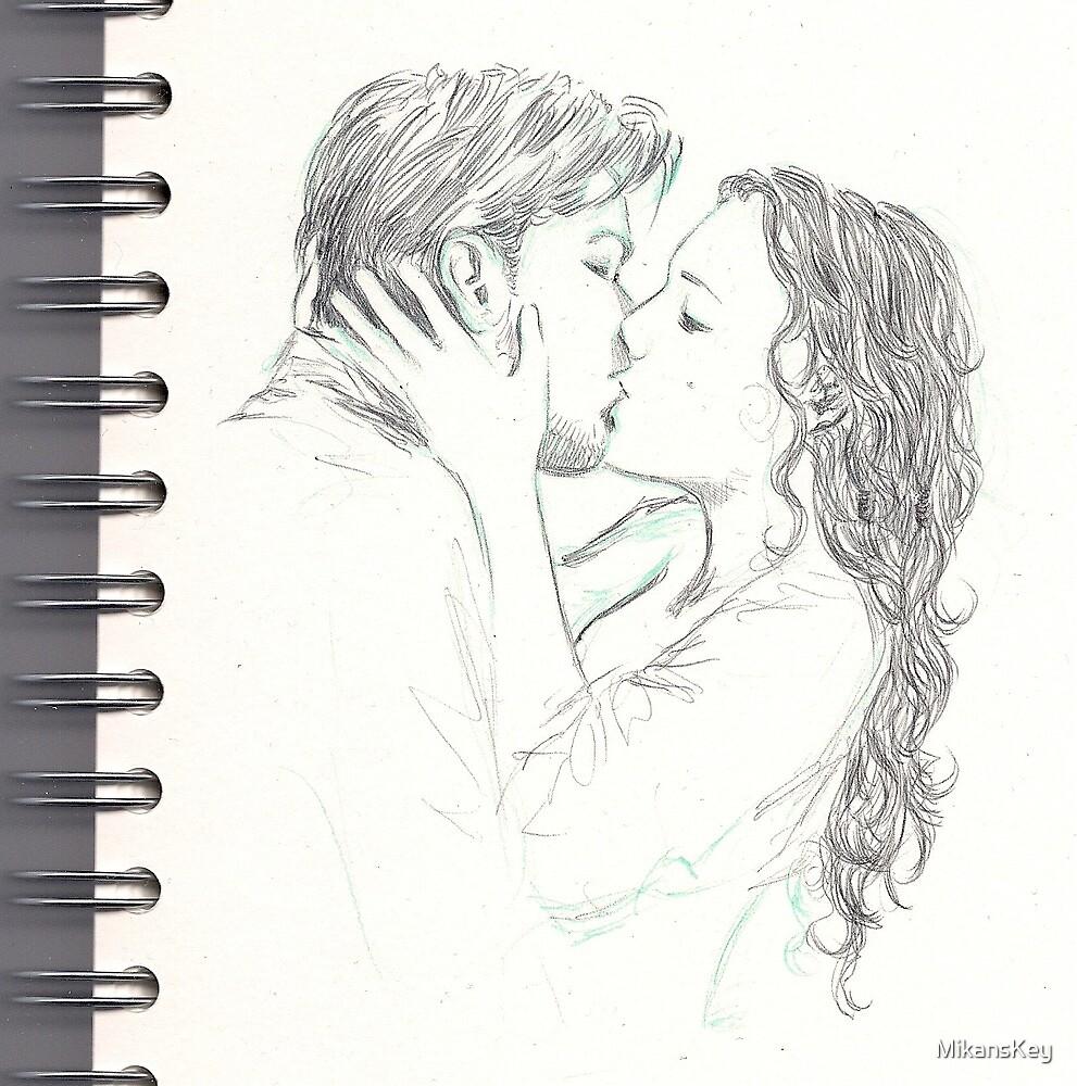kiss by MikansKey