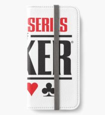 world series of poker wsop iPhone Wallet/Case/Skin