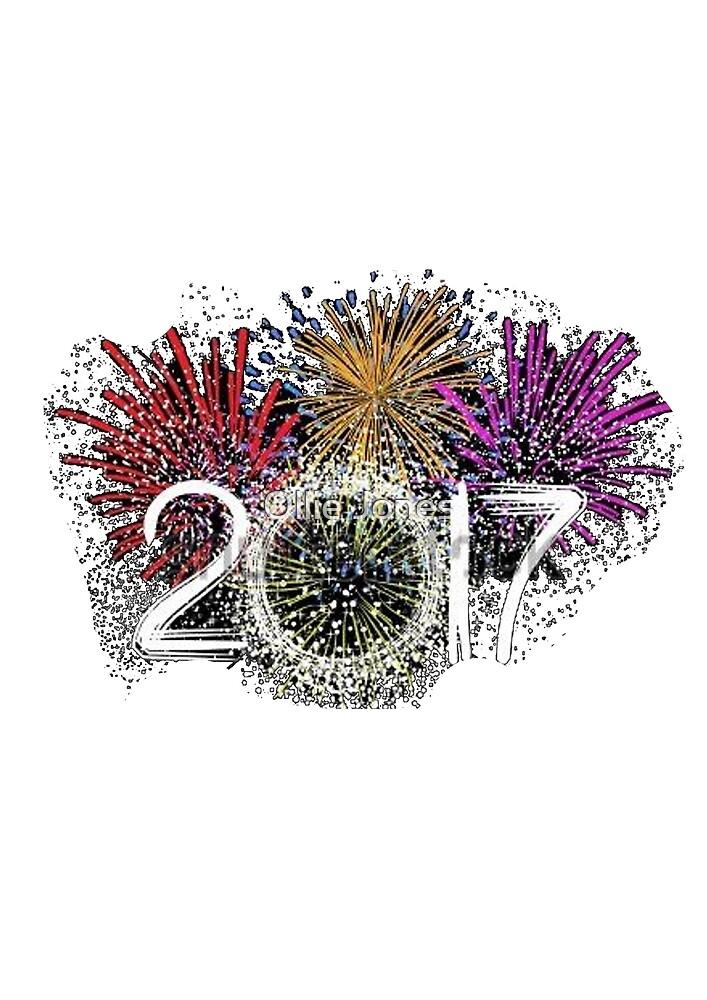 Happy New Year 2017 by Ollie Jones