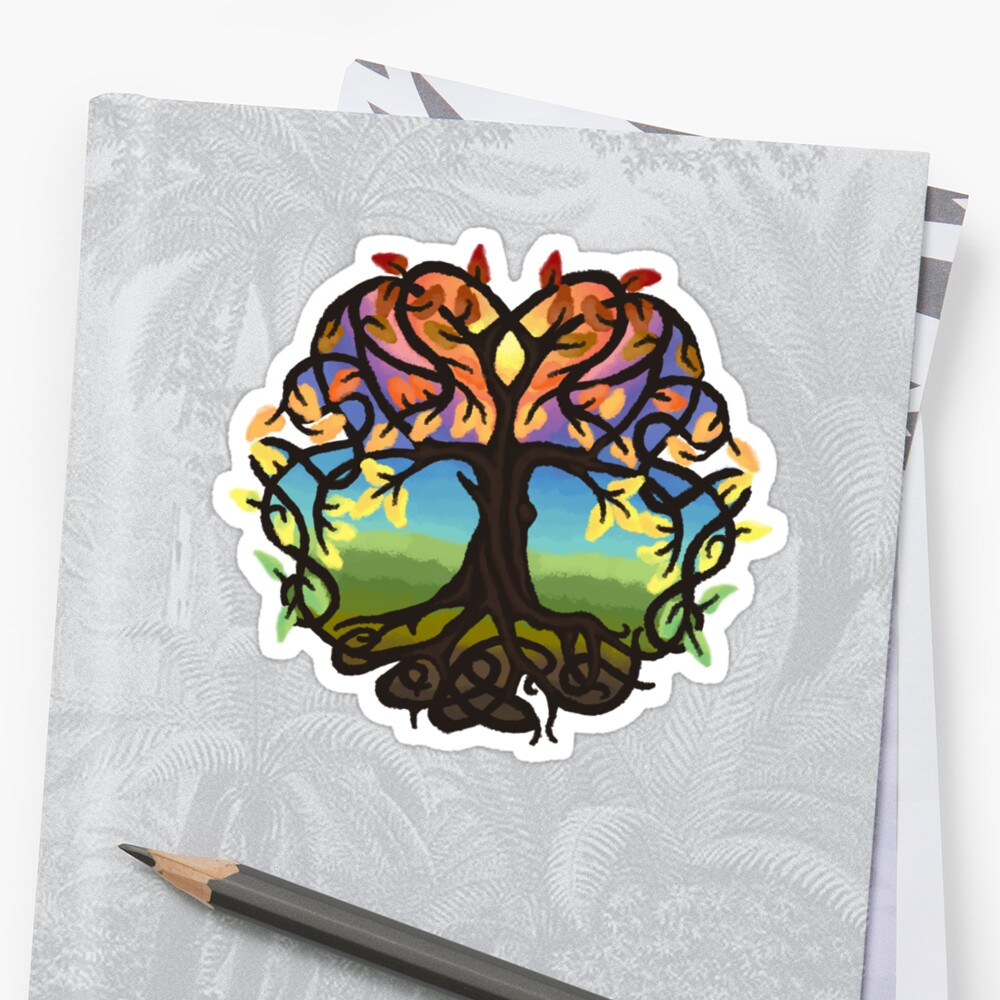 Celtic knot Tree of Life by MikaCakes