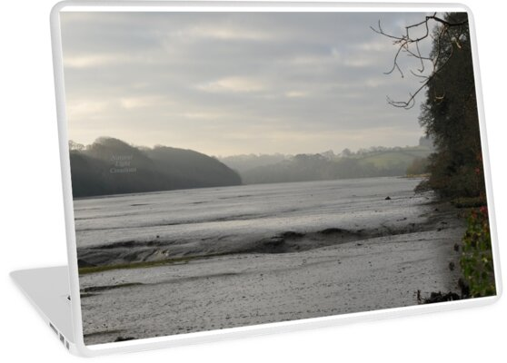 """"""" Misty Light Over Mud Flats """" by Richard Couchman"""