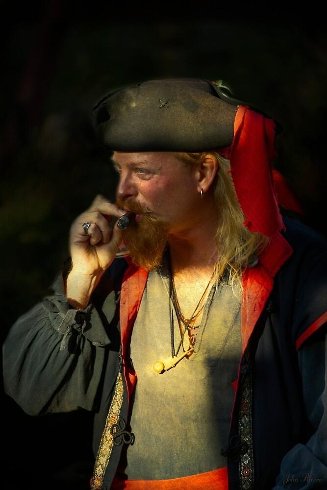 Cigar Smoking Pirate by John Rivera