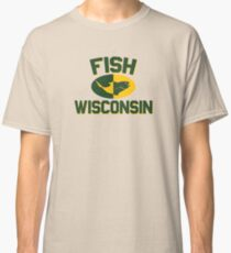 Fish Wisconsin Classic T-Shirt