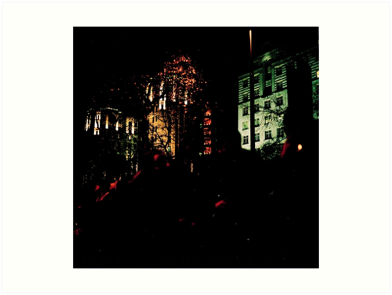 London Embankment New Year's Eve by allaballa