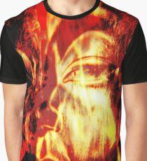 Spiritual Burning Graphic T-Shirt