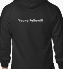 young followill Zipped Hoodie