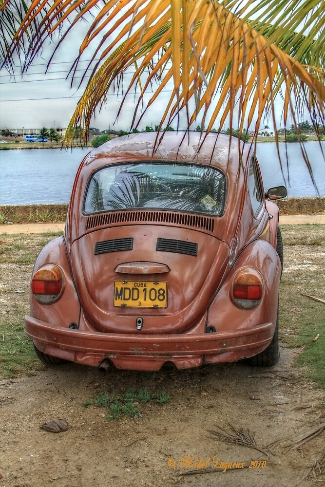 Old volks Cuba by Michel Lagueux