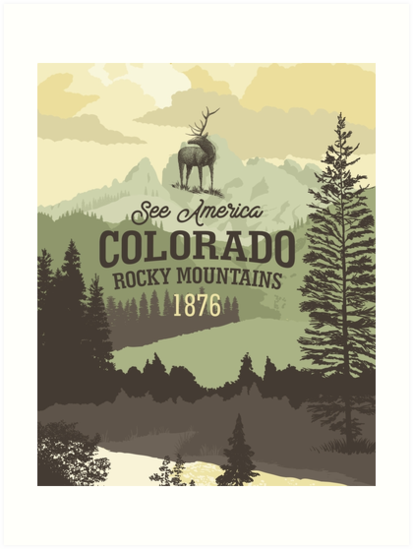 See America – Colorado Rocky Mountains by blue67sign