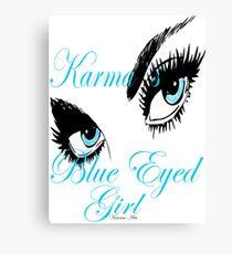 KARMAS BLUE EYED GIRL Canvas Print