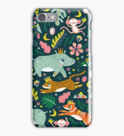 Jungle Buddies Cute Pattern iPhone Case/Skin
