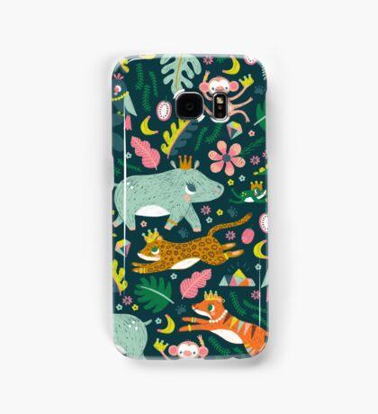 Jungle Buddies Cute Pattern Samsung Galaxy Case/Skin