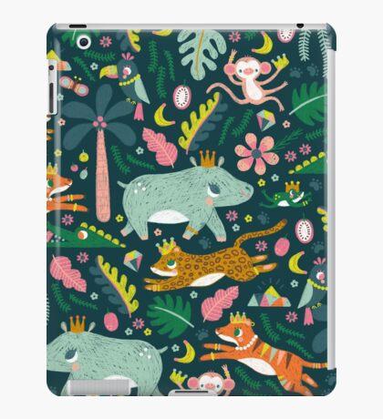 Jungle Buddies Cute Pattern iPad Case/Skin