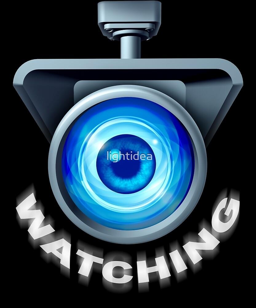Watching Camera by lightidea