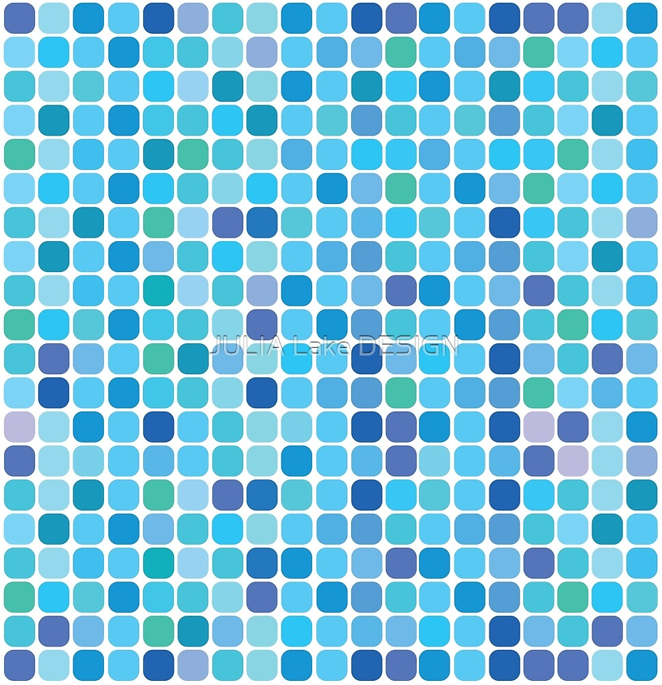 bubble repeating patterns by JULIA Lake DESIGN