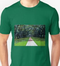 Oak Alley Plantation Louisiana Unisex T-Shirt
