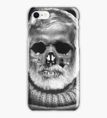 """Ernest """"Skull"""" Hemingway iPhone Case/Skin"""