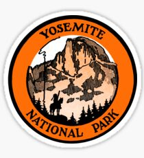 1910 Yosemite National Park Sticker