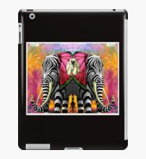 ELEPHANT and MONKEY; Ornamental Decorative Print iPad Case/Skin