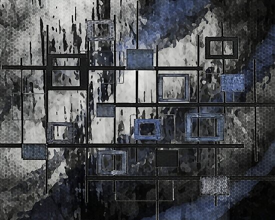 Abstract Squares by WishesandWhims
