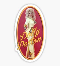 Vintage Dolly Parton Sticker