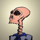 Mr. Skull Portret by fleros