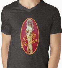 Vintage Dolly Parton Men's V-Neck T-Shirt