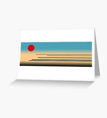 Tokyo Railways Greeting Card