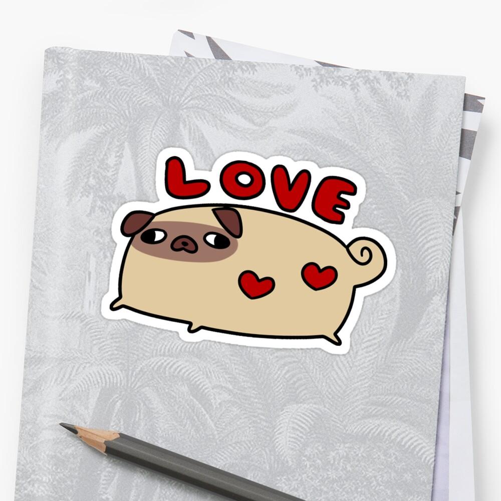 Love Pug by SaradaBoru