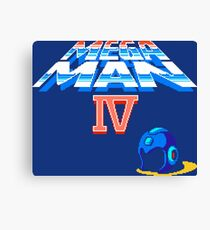 Mega Man 4 (NES) Canvas Print