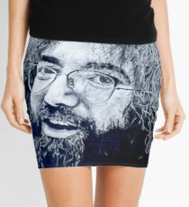 Jerry Garcia Portrait Mini Skirt