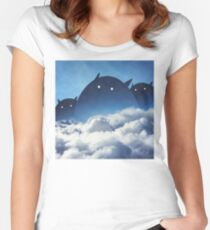 Beyond the Clouds Women's Fitted Scoop T-Shirt