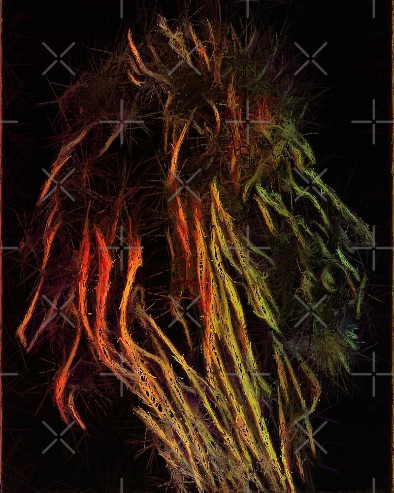 Rasta Lion by WishesandWhims