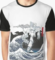 Mecha Wave Graphic T-Shirt