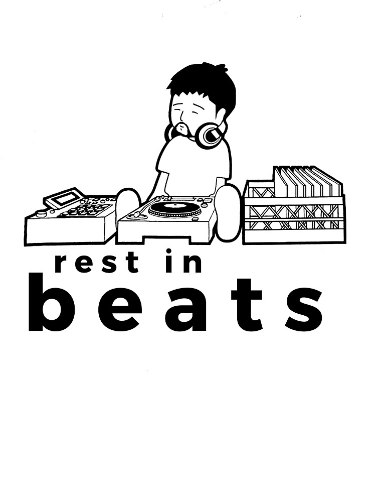 """Nujabes """"rest in beats"""" by QUENTINR"""