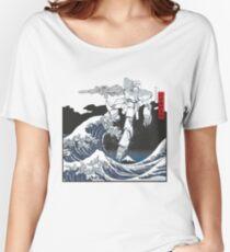 Mecha Wave Women's Relaxed Fit T-Shirt